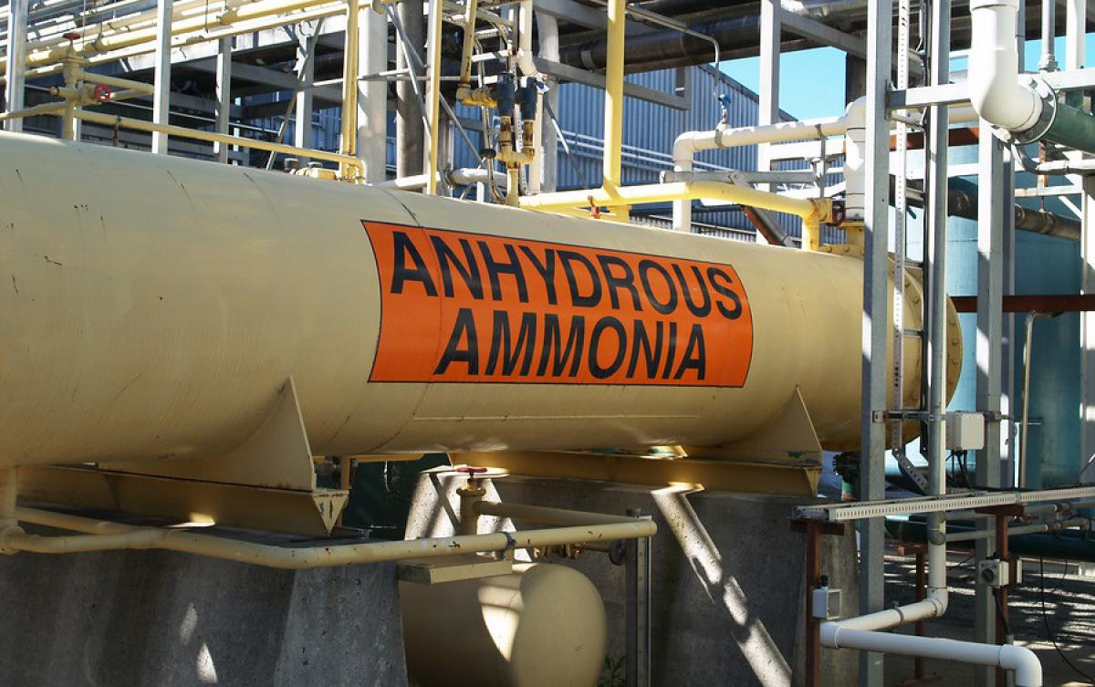 process safety management for food corporation, anhydrous ammonia