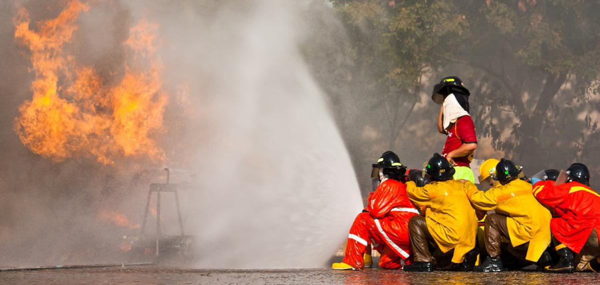 Mapping PFAS Hot Spots at Firefighting Training Facilities