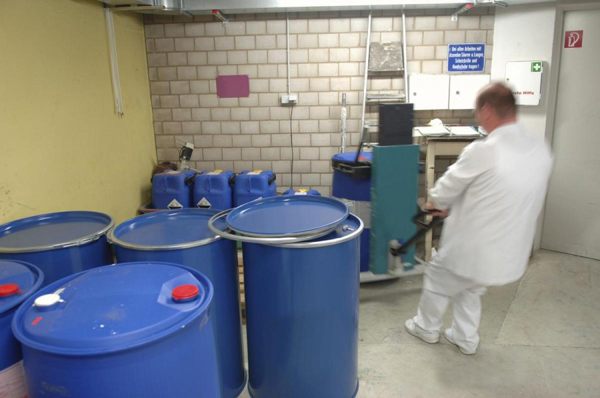 Industrial Hygiene Assessment for Construction Chemicals Manufacturing Facility